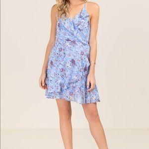 Francesca Ruffle Summer Dress Sz L